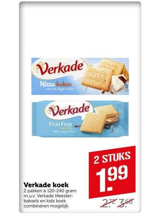 Coop Compact Verkade Koek
