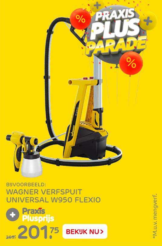 Praxis Wagner Verfspuit Universal W950 Flexio