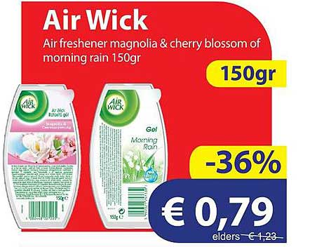 Die Grenze Air Wick Air Freshener Magnolia & Cherry Blossom Of Morning Rain 150gr