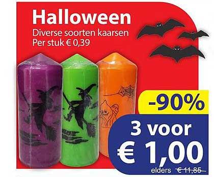 Die Grenze Halloween Kaarsen