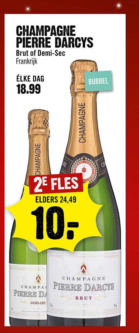 Dirck III Champagne Pierre Darcys Brut Of Demi Sec