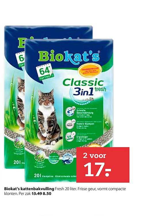 Pets Place Biokat's Kattenbakvulling