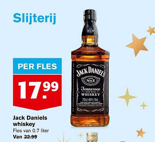 Hoogvliet Jack Daniels Whiskey