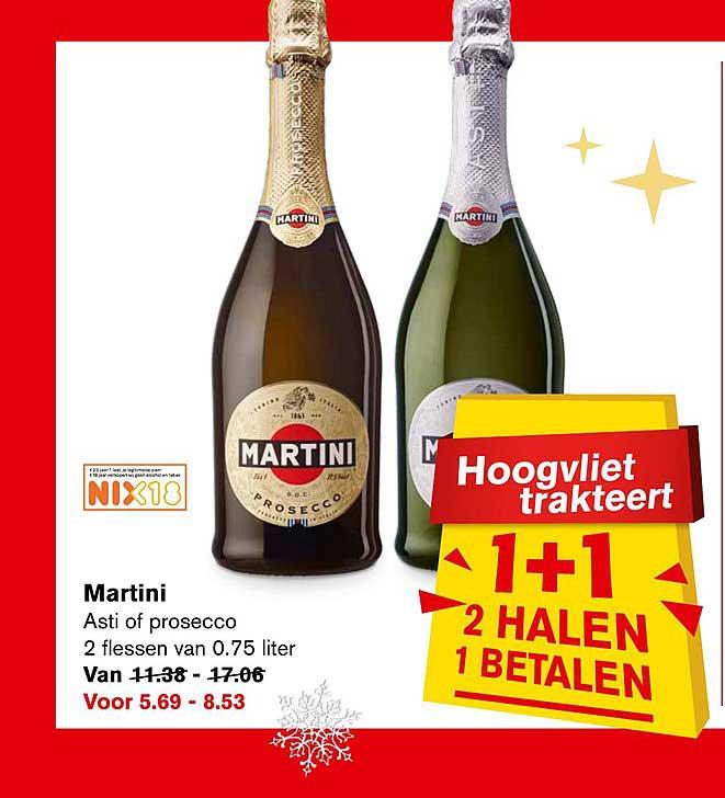 Hoogvliet Martini: 1+1