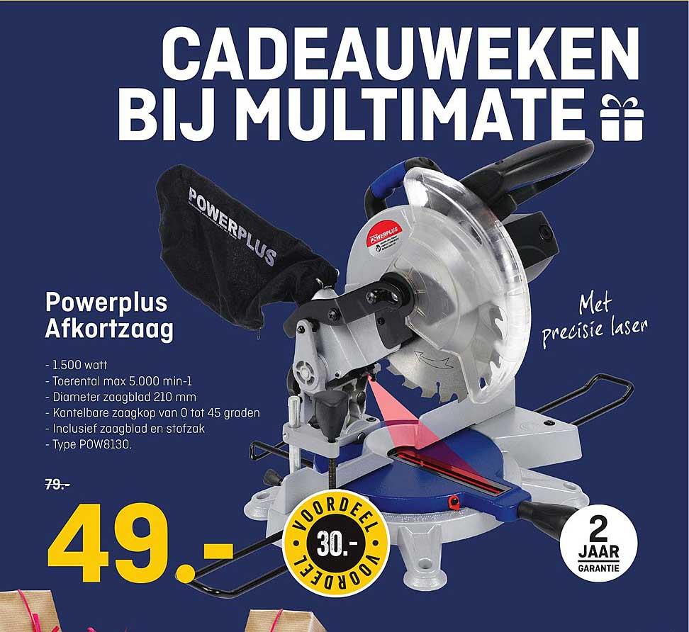 Multimate Powerplus Afkortzaag