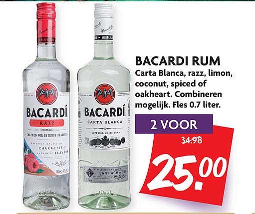 DekaMarkt Bacardi Rum