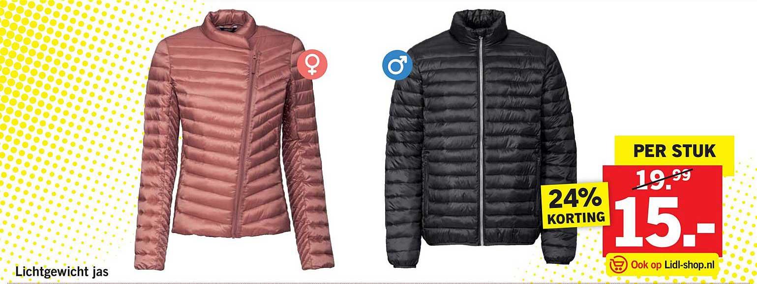 Dames lichtgewicht jas kopen? | LIDL