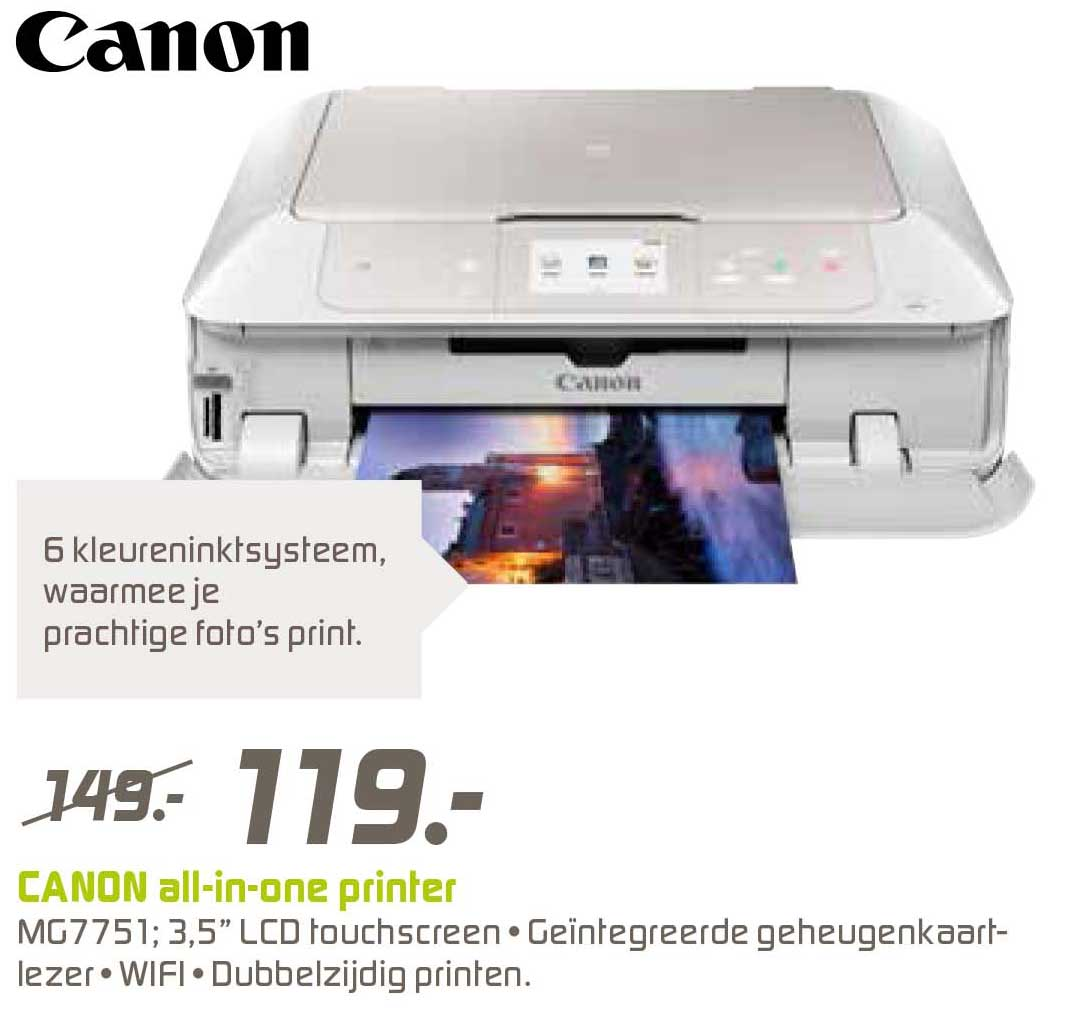 BCC Canon All In One Printer