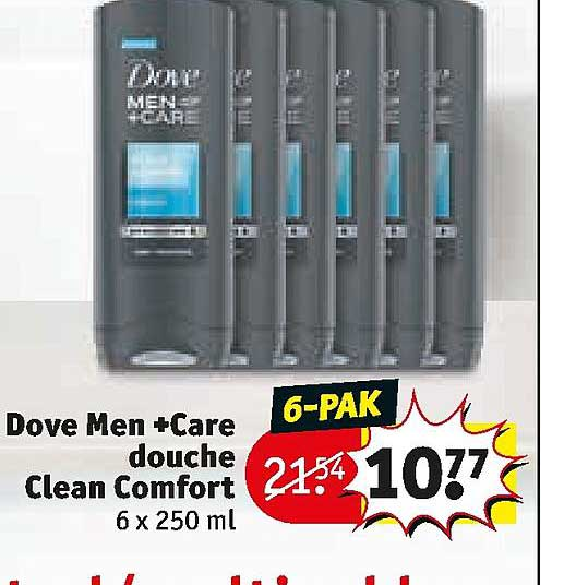 Kruidvat Dove Men +Care Douche Clean Comfort