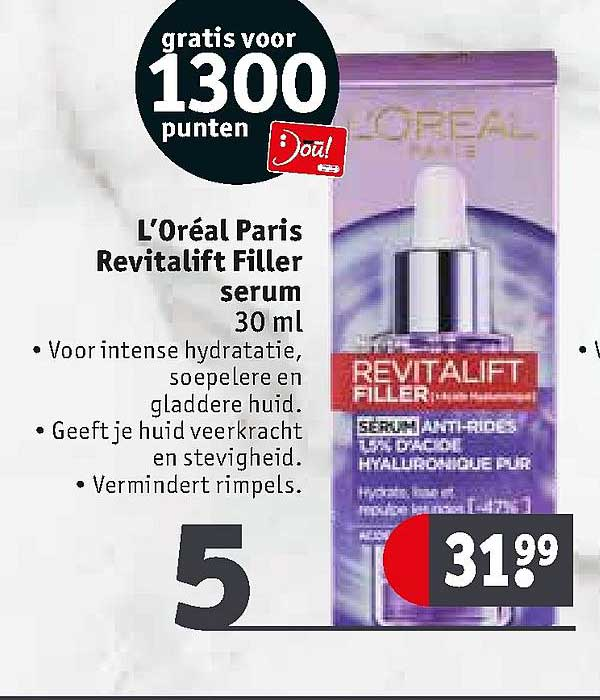 Kruidvat L'Oréal Paris Revitalift Filler Serum