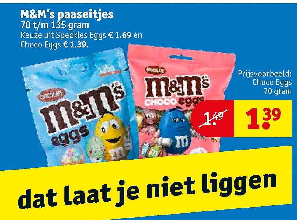 Kruidvat M&M's Paaseitjes