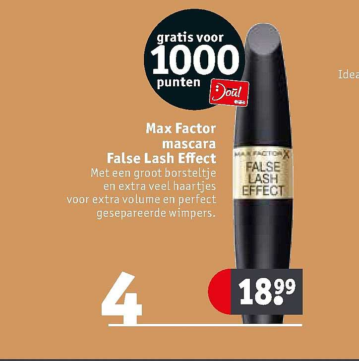 Kruidvat Max Factor Mascara False Lash Effect