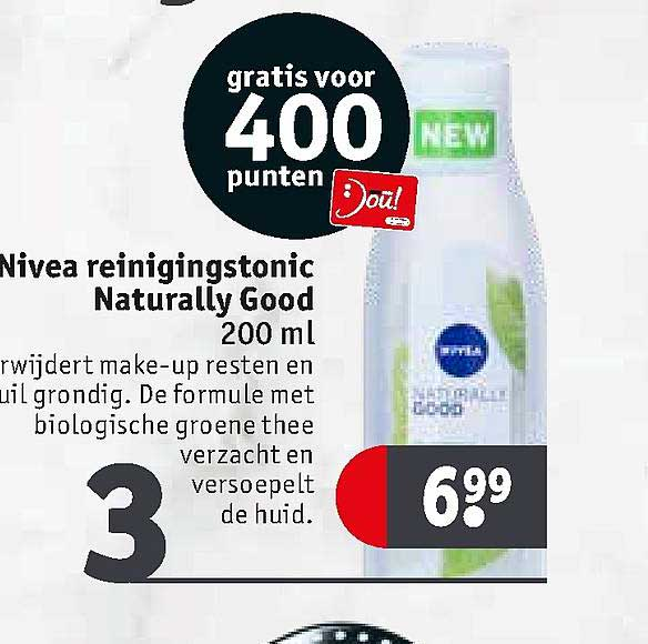 Kruidvat Nivea Reinigingstonic Naturally Good