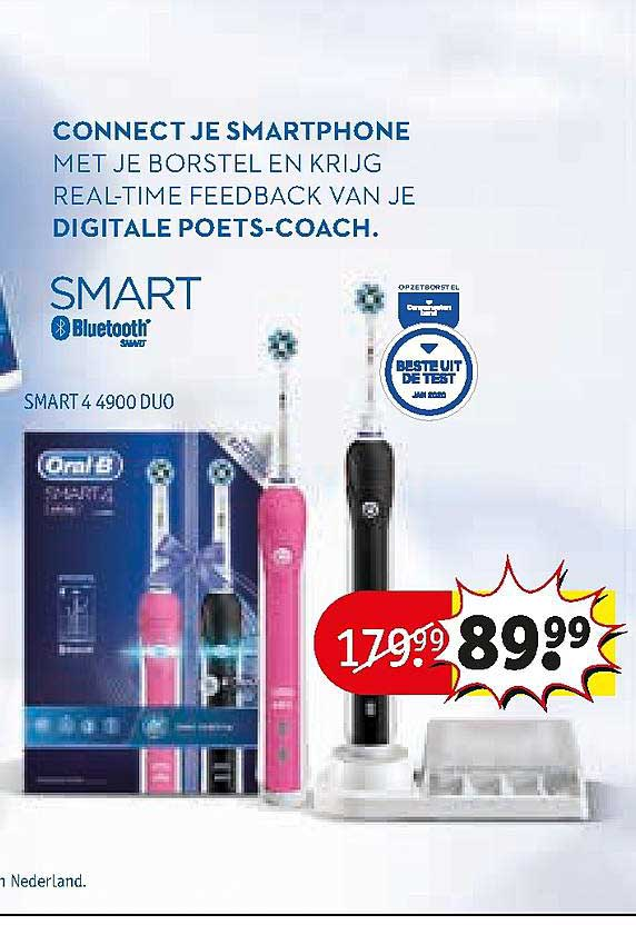 Kruidvat Oral-B Smart 4 4900 Duo