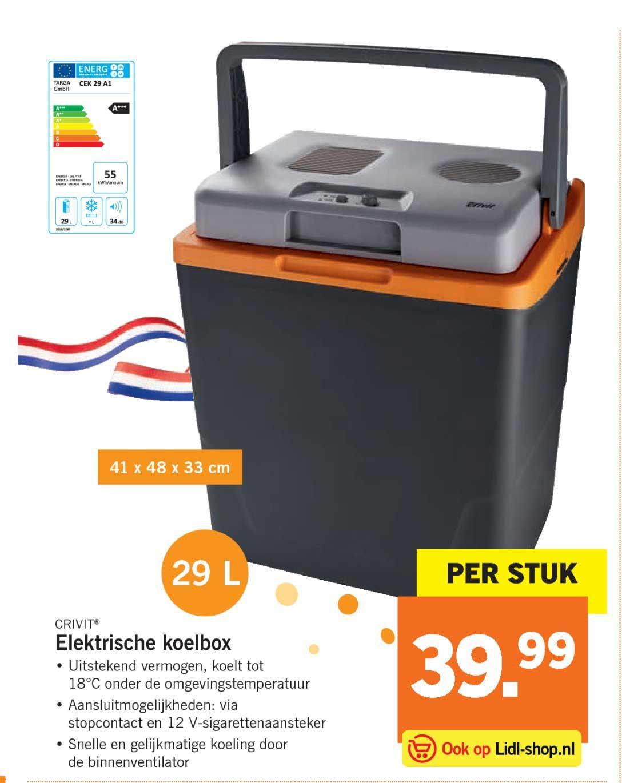 Lidl Elektrische Koelbox