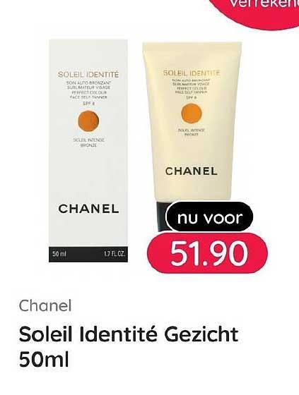 Kijkshop Chanel Soleil Identite Gezicht 50ml