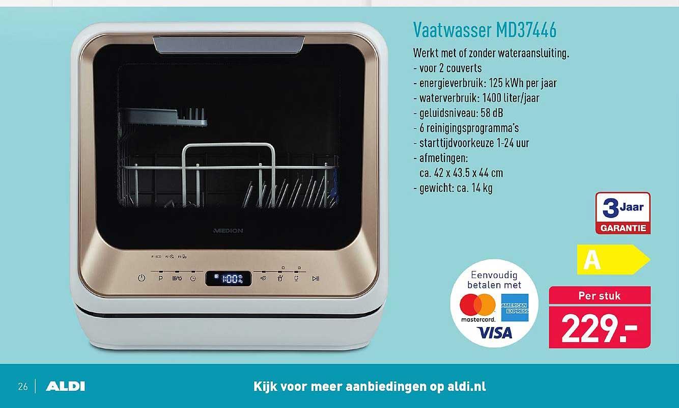 ALDI Vaatwasser MD37446