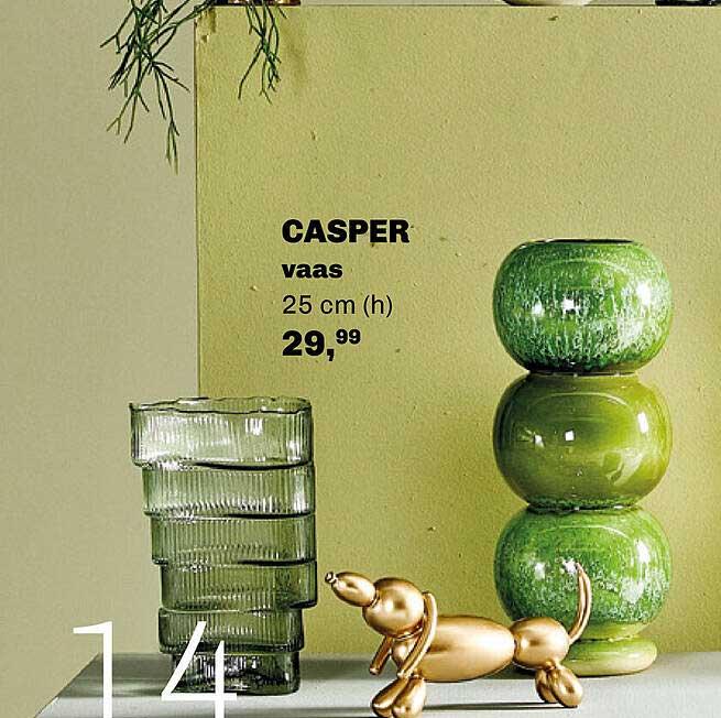 Trendhopper Casper Vaas 25 Cm