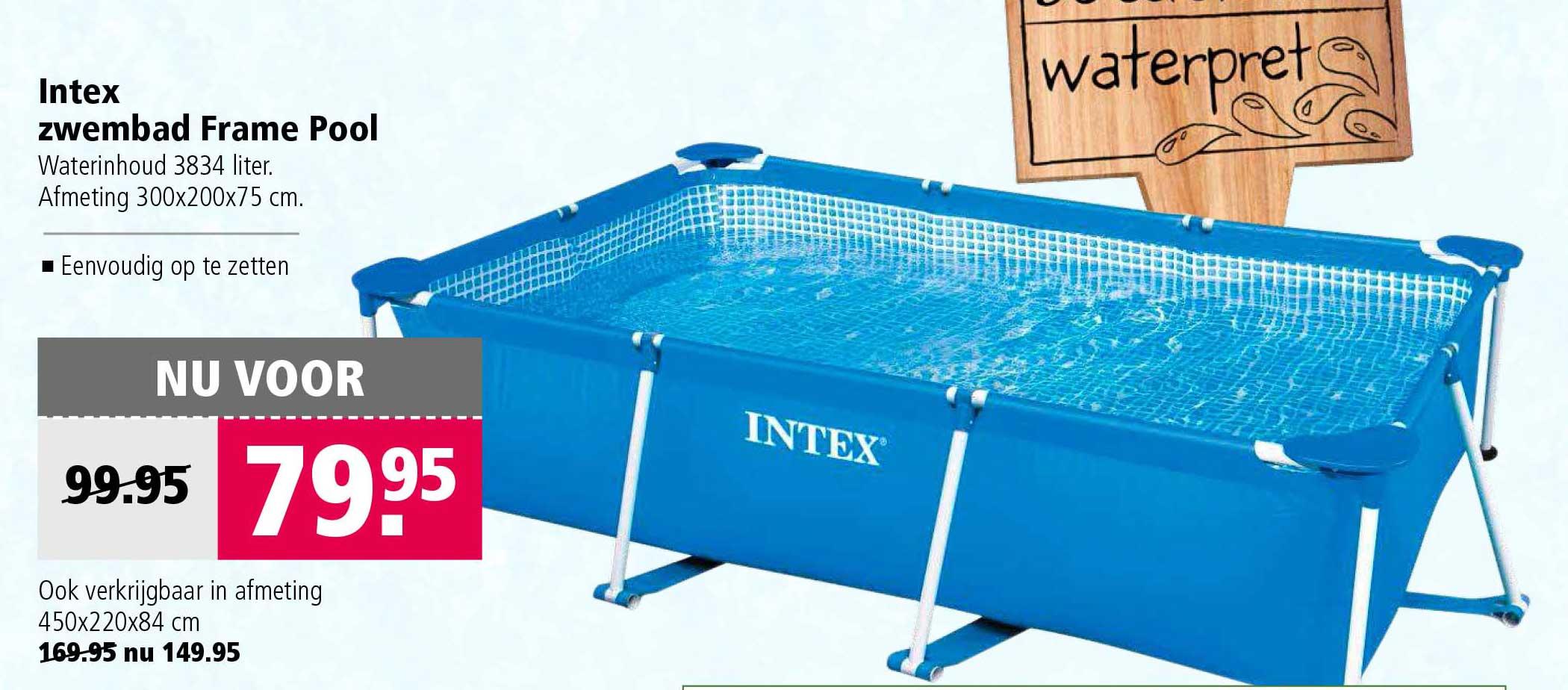 Welkoop Intex Zwembad Frame Pool