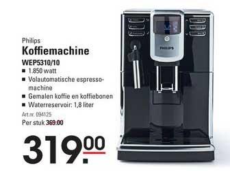 Sligro Koffiemachine