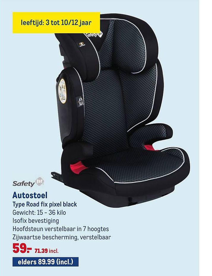 Makro Safety 1st Autostoel