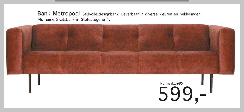 Woonsquare Bank Metropool Designbank