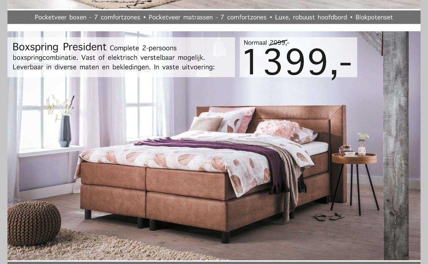Woonsquare Boxspring President
