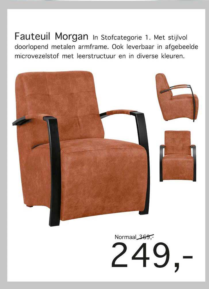 Woonsquare Fauteuil Morgan