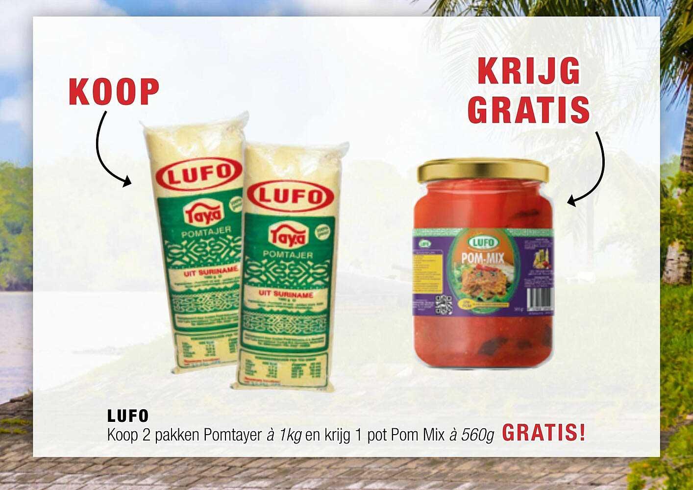 Amazing Oriental Lufo Koop 2 Pakken Pomtayer à 1 Kg En Krijg 1 Pot Pom Mix à 560g Gratis!