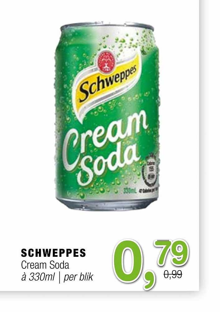 Amazing Oriental Schweppes Cream Soda