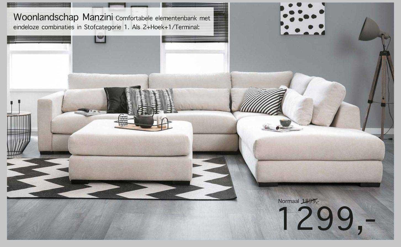 Woonsquare Woonlandschap Manzini Elementenbank