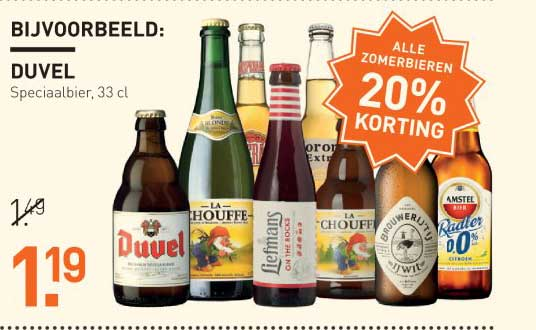 Gall & Gall Alle Zomerbieren: 20% Korting