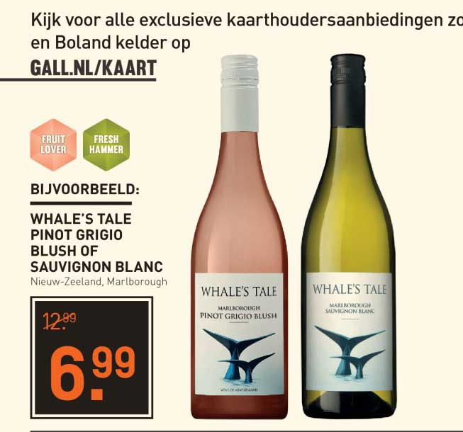 Gall & Gall Whale's Tale