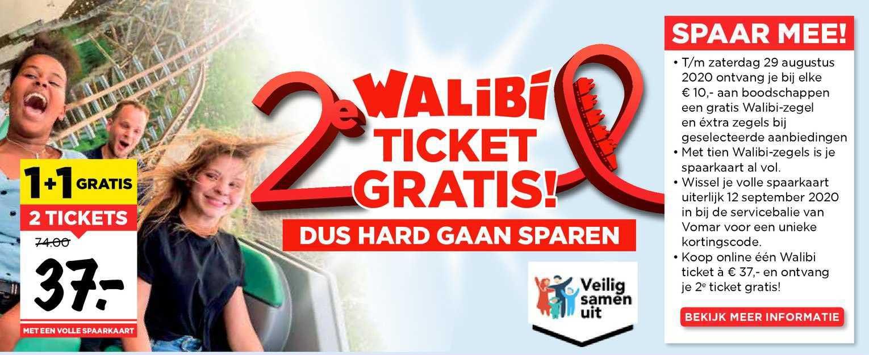Vomar 2 Tickets Walibi Ticket Gratis