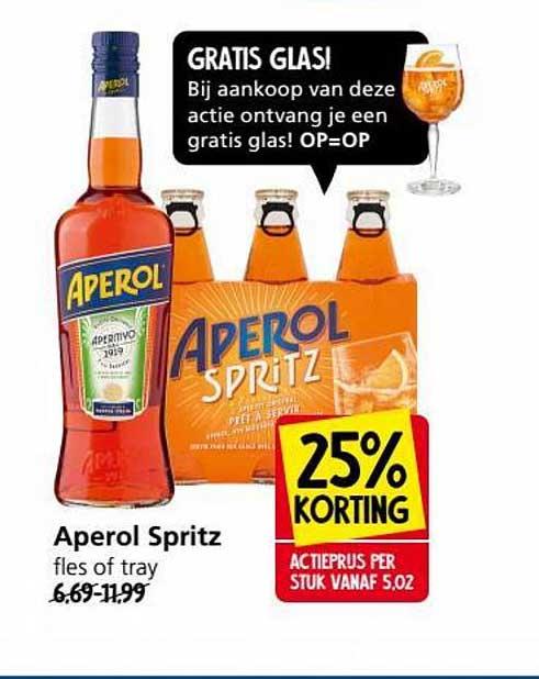 Jan Linders Aperol Spritz 25% Korting