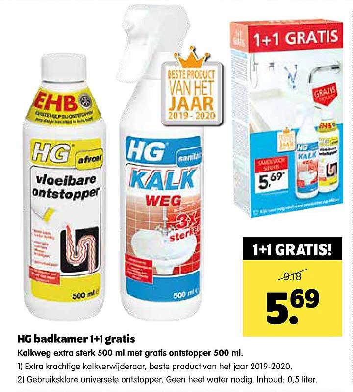 Hg Badkamer Folder Aanbiedingen