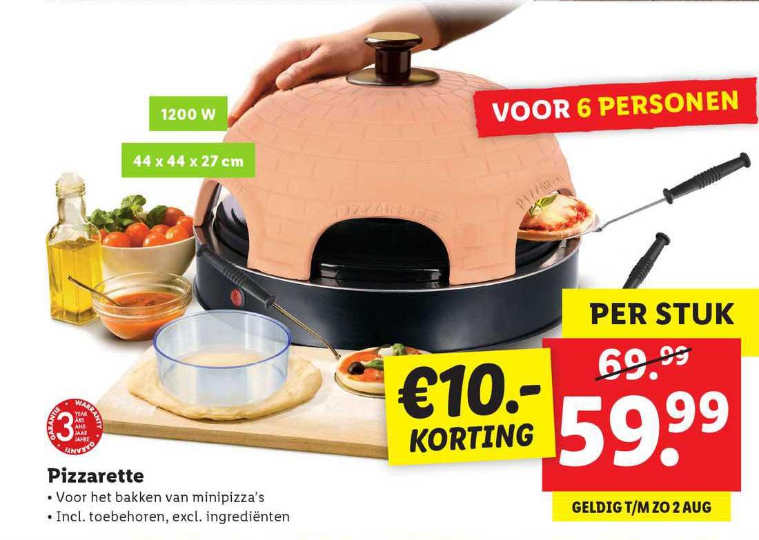 Lidl Pizzarette €10.- Korting