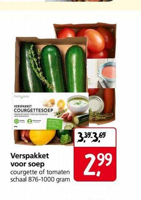 Jan Linders Verspakket Voor Soep
