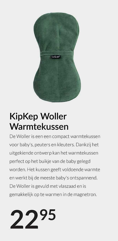 Babypark KipKep Woller Warmtekussen
