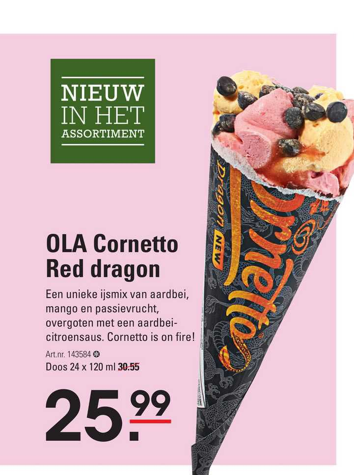 Sligro Ola Cornetto Red Dragon