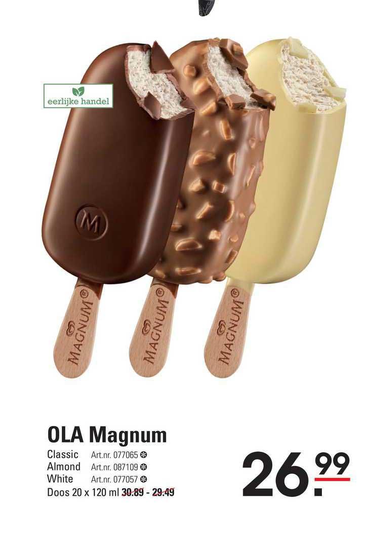 Sligro Ola Magnum Classic, Almond Of White