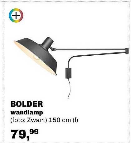 Trendhopper Bolder Wandlamp 150 Cm