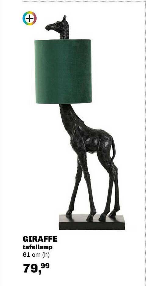 Trendhopper Giraffe Tafellamp 61 Cm
