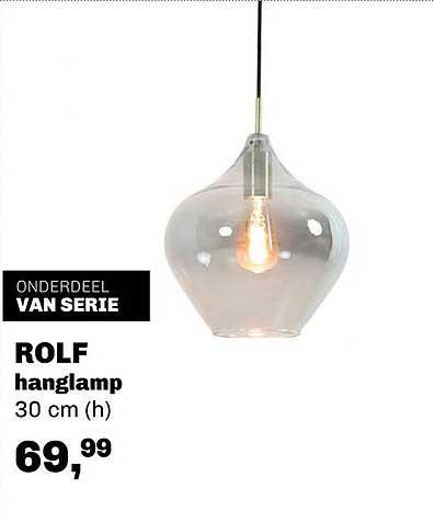 Trendhopper Rolf Hanglamp 30 Cm (h)