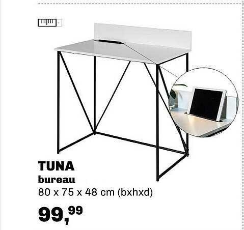 Trendhopper Tuna Bureau 80 X 75 X 48 Cm