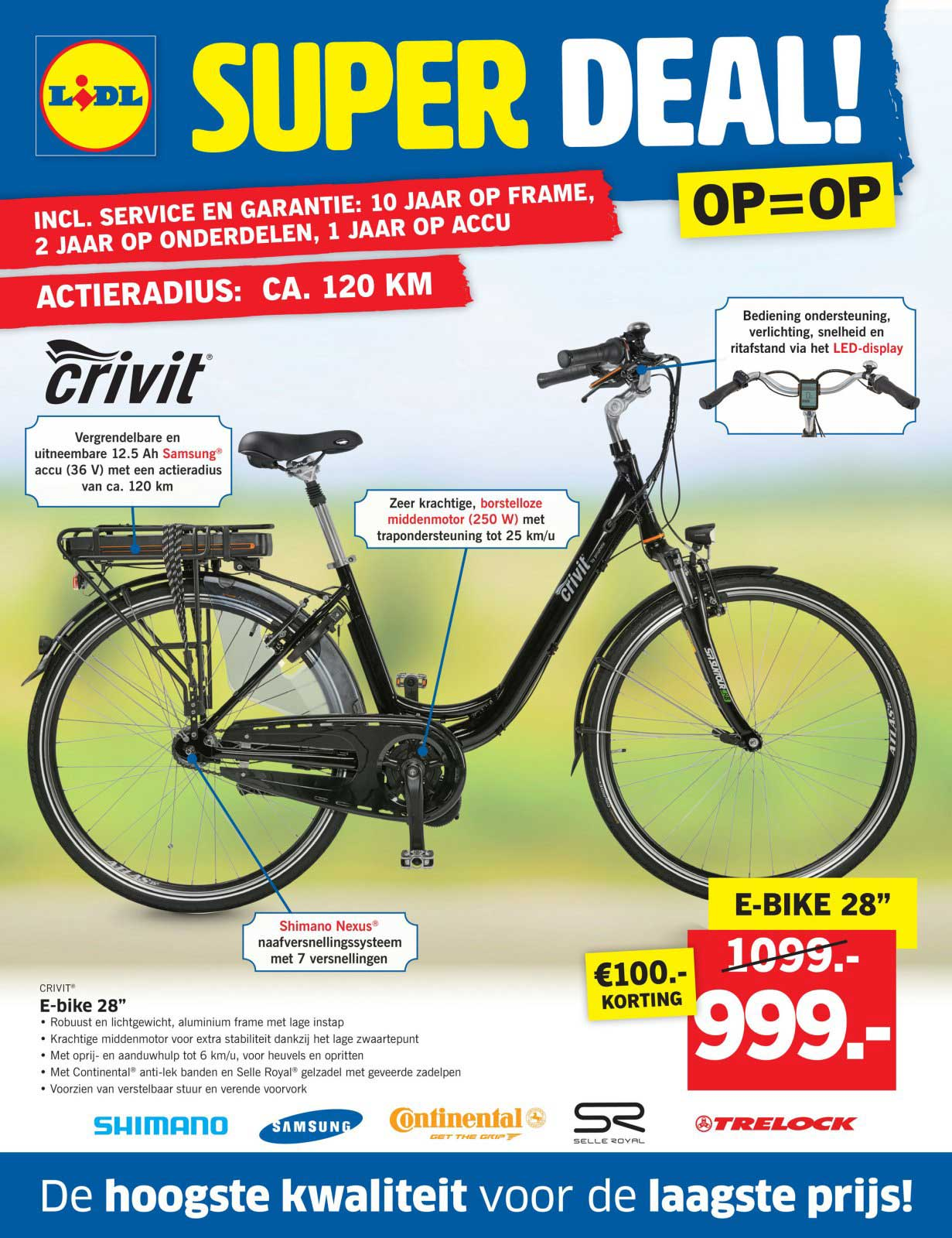 Lidl Shop E Bike 28