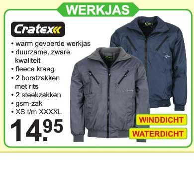 Van Cranenbroek Cratex Werkjas