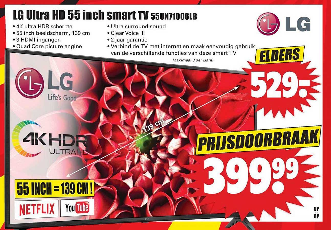 Dirk LG Ultra HD 55 Inch Smart TV 55UN71006LB