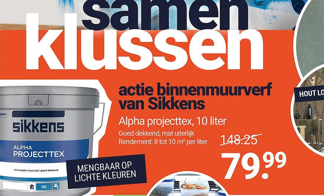 Inter Chalet Alpha Projecttex 10 Liter