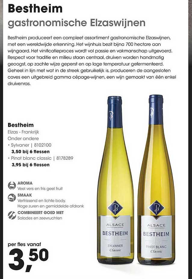 HANOS Bestheim Sylvaner Of Pinot Blanc Classic